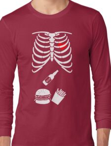Pregnancy Funny Couple T-shirt Halloween Costume T-shirts Long Sleeve T-Shirt