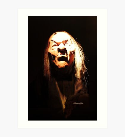 Haunted Ghoul ~ Scary Creature Art Print
