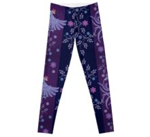 abstract textile designs Leggings