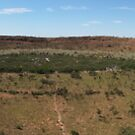 Wolfe Creek Meteor Crater by BigAndRed