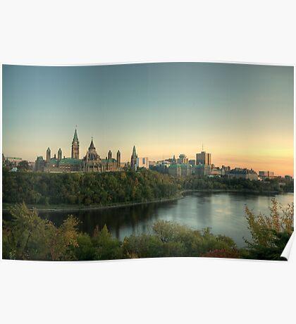Ottawa Skyline - Ottawa, Ontario Poster