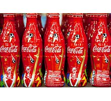 World Cup Coke  Photographic Print