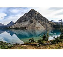 Crowfoot Mountain, Banff NP Photographic Print