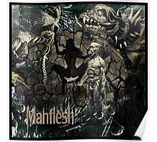 "MANFLESH - ""Unleash the beast"" Poster"