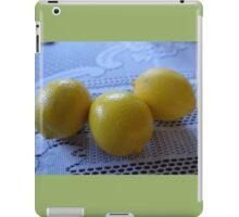 Lemons. Fruit photo. iPad Case/Skin