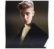 Justing Bieber on George Washington's Body Poster