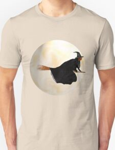 Whitch Flight on Halloween Night T-Shirt