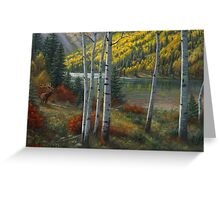 Beyond The Aspens Greeting Card