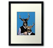 Dear Deer Stepbrothers Framed Print