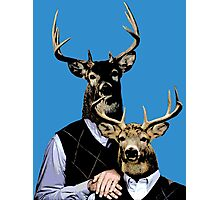 Dear Deer Stepbrothers Photographic Print
