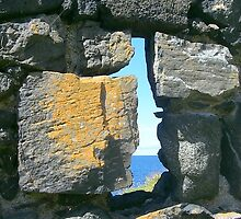 Irish sea through the keyhole! by weecritter