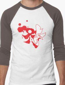 yin yang samarai Men's Baseball ¾ T-Shirt
