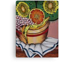 Fruit bowl interpretation Canvas Print