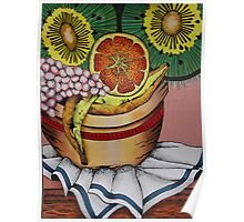 Fruit bowl interpretation Poster