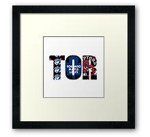 TOR Framed Print