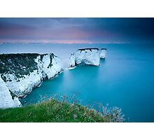 Old Harry Rocks Facing East Photographic Print
