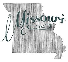 Missouri State Typography by surgedesigns