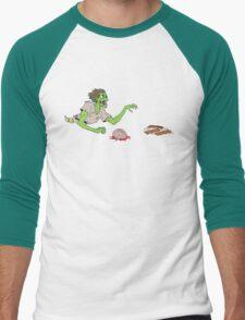 Bacon Zombie Men's Baseball ¾ T-Shirt