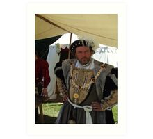 Henry VIII Art Print