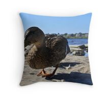 Content Throw Pillow