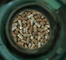 Corks in a jar, Lake Garda  by Rich51