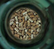 Corks in a jar, Lake Garda  by Rich51