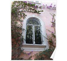 Window On Cap Ferrat Poster