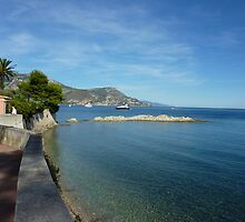 View from Cap Ferrat by Fara