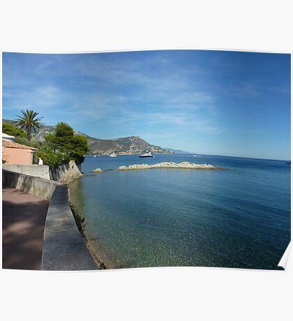 View from Cap Ferrat Poster