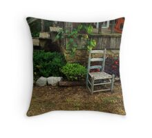At the O'Neil Cabin Throw Pillow