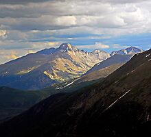 Longs Peak in Summer  by Robert Meyers-Lussier