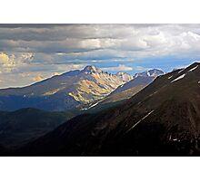 Longs Peak in Summer  Photographic Print