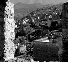 Kayaköy Village, Kaya Valley, Oludeniz, Bay of Fethiye, Turkey,  by Greig  Cowie