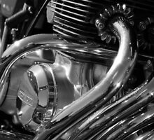 Pipes and Chrome by Greig  Cowie
