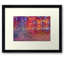 Palace of fire Framed Print
