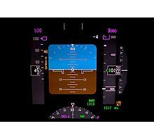 Technology: airplane instrument panel. Photographic Print