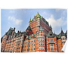 Chateau Frontenac. Poster
