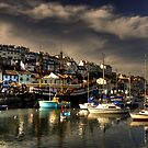 The Harbour at Brixham by Rob Hawkins