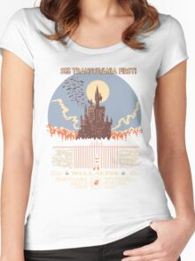 See Castlevania First! Women's Fitted Scoop T-Shirt