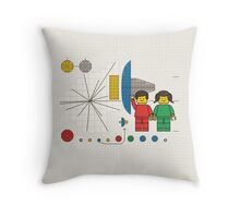 Hello Universe! (Extended Background) Throw Pillow