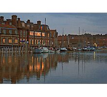 Blakeney at Dusk Photographic Print