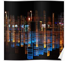 Mirage of city. VI Poster