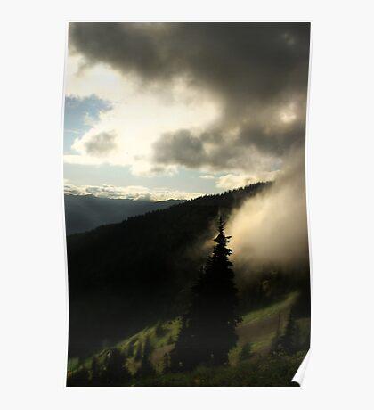 Hurricane Ridge Poster