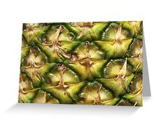 Pineapple detail. Greeting Card