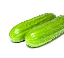 Green cucumbers. by FER737NG