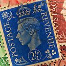 King George vintage stamps. by FER737NG