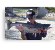Wow ! wow! Wow! Happy fisherman  - Brown Sugar .   God bless artist and dreamers ! Amen. Views 240. thx! Canvas Print