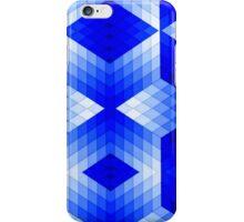 Geometric in Blue iPhone Case/Skin