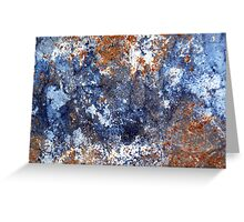 Untitled Blues Greeting Card