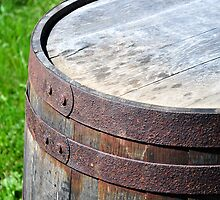 Old rusty barrel. by FER737NG